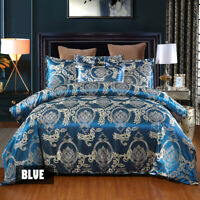 Luxury Duvet Quilt Cover Pillowcases Sheet ding Set Single, Double, King