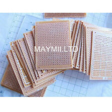 High Quality 10Pcs 5 x 7 cm DIY Prototype Paper PCB Universal Board Breadboard é