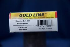 Walthers (Gold Line) 932-3826. Cushion Coil Car,Round Hoods,