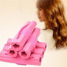 6Pcs/Set Magic Foam Rollers Sponge Hair Styling Soft Curler Twist Styling Tool K