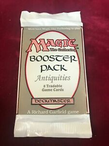 1993 MTG Magic the Gathering Antiquities Booster Pack (JW4)