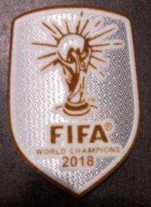Patch badge foot World champions maillots bleu de l'équipe de France 2018