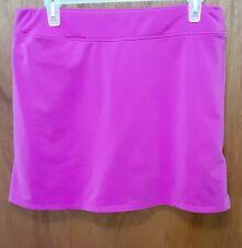 Women's Adidas Clima Lite Purple Flat Front Golf Skort Size 8