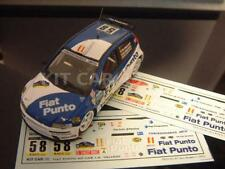 DECAL CALCA 1/43 FIAT PUNTO F3 - S. VALLEJO - RALLY CATALUNYA 2001