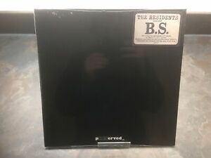 """THE RESIDENTS   B.S. 12"""" VINYL   RECORD STORE DAY 2019"""