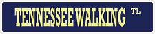 "*Aluminum* Tennessee Walking Horse 4"" x 18"" Metal Novelty Street Sign  SS 3485"