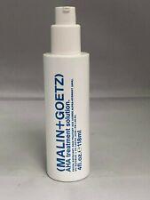 Malin + Goetz AHA Treatment Solution 4 oz (NWOB)