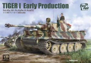 Border Model BT010 Tiger I Early Production Juli/August 1943, Kursk  1:35