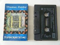 THOMAS DOLBY HYPERACTIVE ! CASSETTE TAPE SINGLE EMI UK 1994