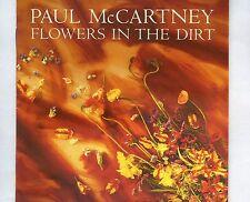 CD PAUL McCARTNEY flowers in the dirt UK 1989 EX