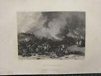 1892 Estampado ~ Batalla De Naseby