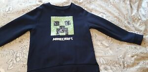 Minecraft Jumper Sequin Reversable Next Age 9
