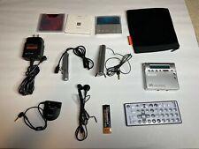 Sony Portable Mini Disc Recorder Md Walkman Mz-R900 Mdlp Silver