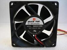 Mitachi B802512BM 12v DC Brushless Fan, 90 DAYS RTB WARRANTY