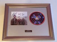 SIGNED/AUTOGRAPHED CHVRCHES-THE BONES OF WHAT YOU BELIEVE  FRAMED PRESENTATION.