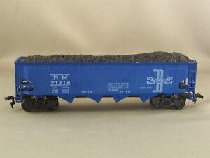 Roco - Boston & Maine - 40' Quad Hopper w/Load + Wgt # 71714