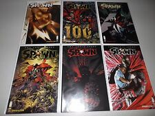 Spawn #100 (Complete set of 6 variant covers) McFarlane, Capullo, Frank Miller