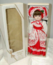 Gorham First Annual Christmas Doll Christine 18'' Petticoats & Lace VT756 S9007