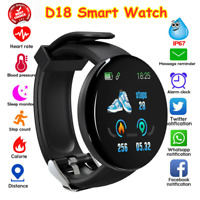 FITNESS TRACKER SPORT SMART WATCH STEP COUNTER PEDOMETER CALORIE HEART RATE FIT