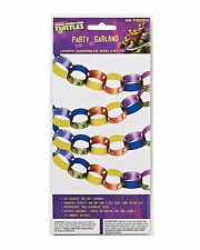 Teenage Mutant Ninja Turtles Large 28 Pc. Party Garland Party Supplies 4.67 Feet