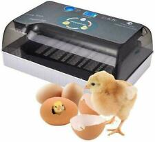 12 Eggs Turner Automatic Hatcher Incubator Digital Poultry Chicken Bird Duck Led