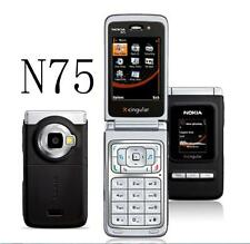 """Nokia N75 Mobile Phone Bluetooth 2MP 2G 3G 2MP Camera 2.4"""" FM Music Cell phone"""