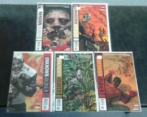 Unknown Soldier (DC Vertigo 2008) Issues 1-5 Set Lot Run! All Near Mint NM Good!