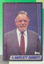 1990 Topps #396  A. Bartlett Giamatti Former MLB Commissioner