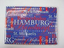 Hamburg Germany Foto Magnet XXL,Reeperbahn,Fischmarkt,Michel,Speicherstadt,NEU