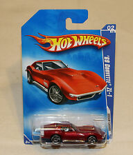2009 Hot Wheels HW Dream Garage #148 1969 '69 Corvette ZL-1 Red New