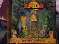 "VINTAGE DISNEY'S THE LION KING ""TAME YOUR MANE"" GROOMING SET RARE"