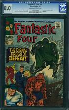 Tu Four # 58 US Marvel 1967 Kirby Dr Doom CGC 8.0 VFN