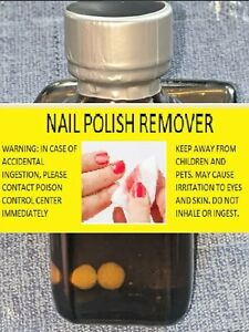 30mL Nail Polish Remover-Solvent Cleaner--MADE IN USA