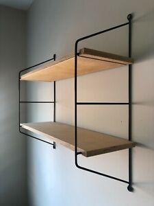 East German Mid Century String Shelves GDR