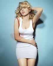 Scarlett Johansson Celebrity Actress 8X10 GLOSSY PHOTO PICTURE IMAGE sj115