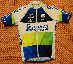 Orica Green Edge, Mens cycling Shirt by Santini, Size XL - Large, Scott