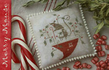 Merry Mouse Christmas With Thy Needle & Thread Cross Stitch Pattern