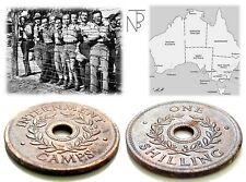 Australia-WW.II (Internment CAMP 1942) Token-SHILLING