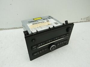 2007 SAAB 93 9-3 CD RADIO PLAYER STEREO HEAD UNIT 12774898 - NO CODE