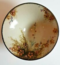 VINTAGE POTTERY HAND PAINTED BOWL - STUNNING
