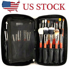 Cosmetic Travel Makeup Brush Handbag Case Brush Holder Pouch Pocket Make up Bag
