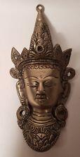 VINTAGE BHUDDIST DIETY TARA wall plaque
