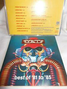 Y & T - BEST OF 81 TO 85 - US 16 TRK CD - LIKE NEW - HARD ROCK - HEAVY METAL
