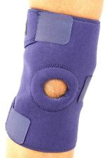 2 X Adjustable Wrap Around Knee Patella Support With Tri Strap One Size