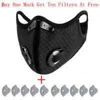Reusable PM2.5 Activated Carbon Respirator, for outdoor cycling and hiking
