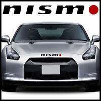 Nismo hood decal sticker for Nissan Sentra Altima 200SX 350Z bro universal 4x4