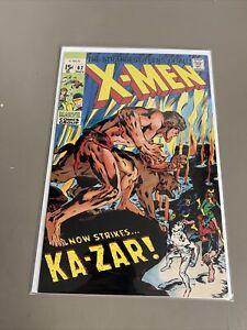 Marvel Comics X-Men Now Strikes KA-ZAR  62 Comic Book Stridex Reprint Variant KG