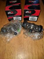 NEW NOS PBR JB2581 PAIR OF REAR WHEEL CYLINDERS FITS MITSUBISHI CORDIA AA 83-84