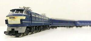 TOMIX #92818 Class EF 66 electric loco + Series 24 Sleeper set (N scale 1/150)