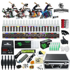 Dragonhawk D120GD-16 40 color Ink Power supply needle Grip Tip Set - 4 Machine